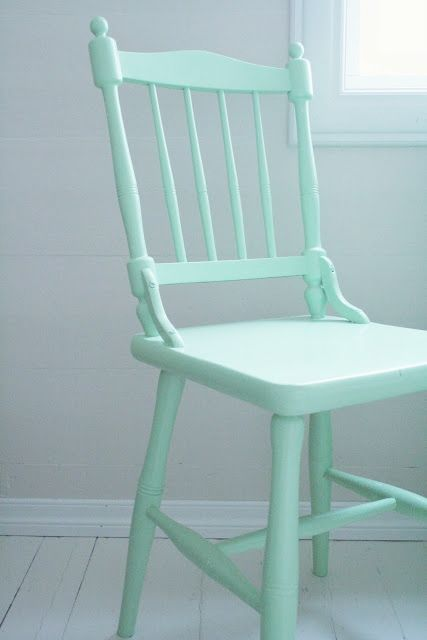 Brighten up your space paint dining chairs using for Different color chairs