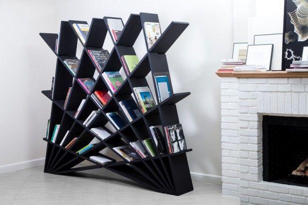 Bibliothèque CHEFT par Studio Pousti - Journal du Design