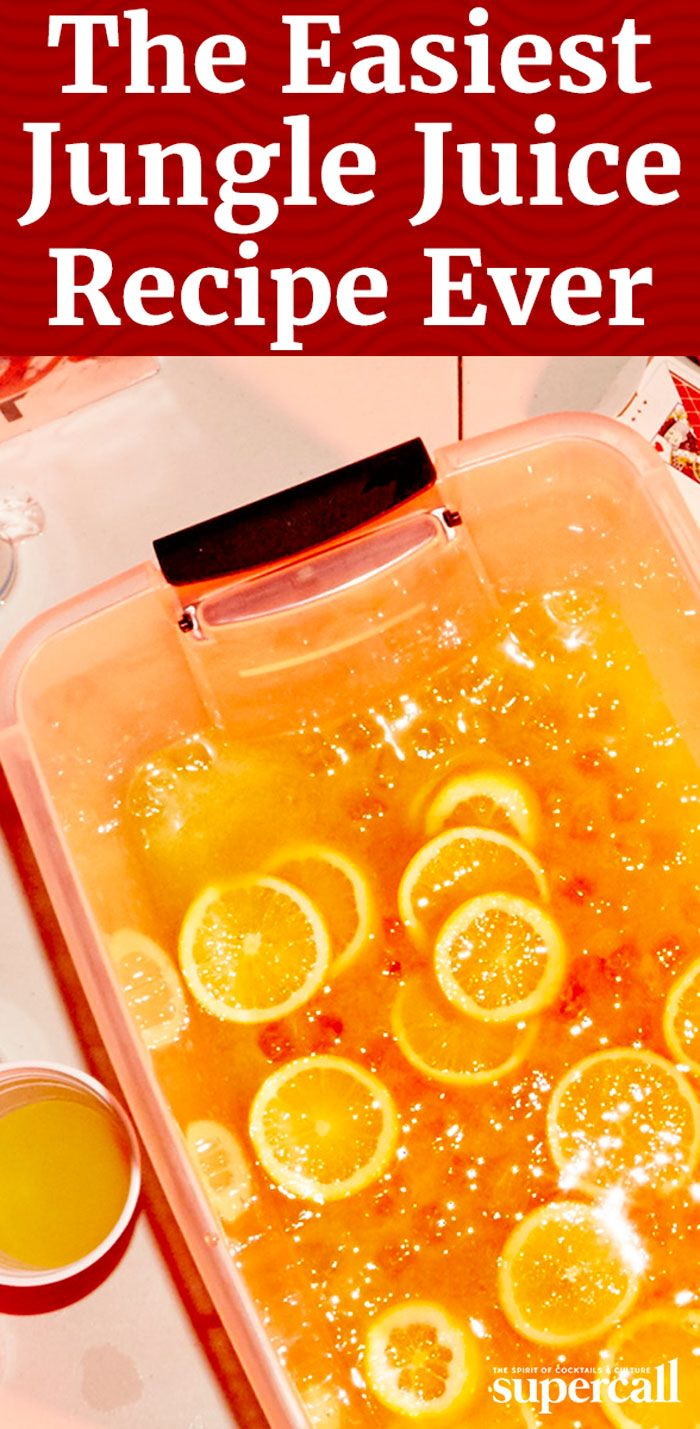 We came up with a simple formula that is absolutely foolproof. Next time you're concocting the collegiate classic, turn to this Simple Jungle Juice recipe—it's sweet, easy-drinking and very boozy.