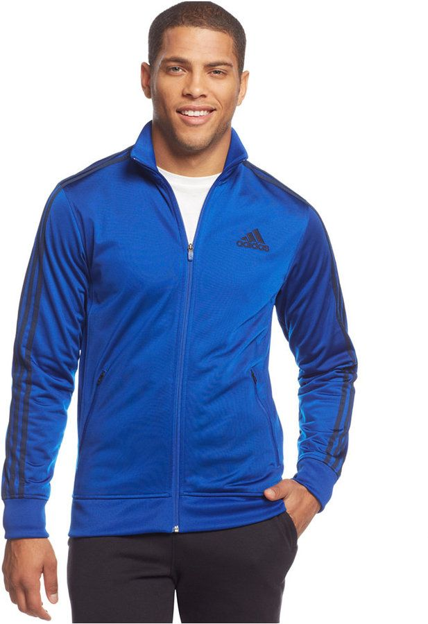 adidas Post Game Striped Track Jacket
