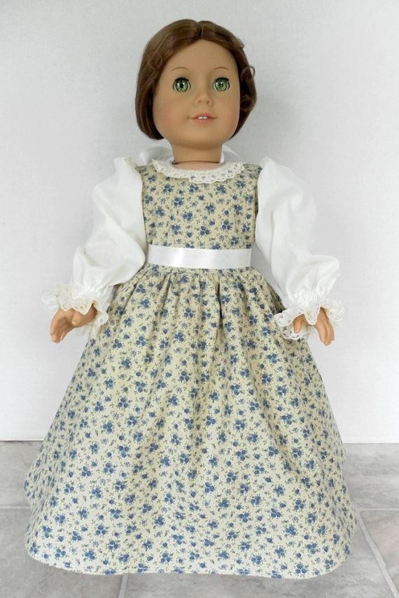 1774 American Girl Felicity Colonial Dress by JessicasDollCloset, $33 ...