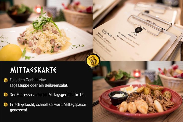 Wohin mittags zum Essen? Natuerlich zu uns! Unser Lunch ist beliebt,  reichhaltig, lecker und der Service schnell.   Alles zusammen perfekt um eine tolle Mittagspause zu geniessen.  Also bis bald im Brusko.    Brusko griechisches Grill Restaurant   www.brusko.de #Brusko #griechisches #Grill #Restaurant #Muenchen #Schwabing #Grieche #Cocktailbar #Businesslunch #Leopoldstrasse #Griechischesrestaurant #Eventlocation #bestesgriechischesrestaurant #bestplacetobe