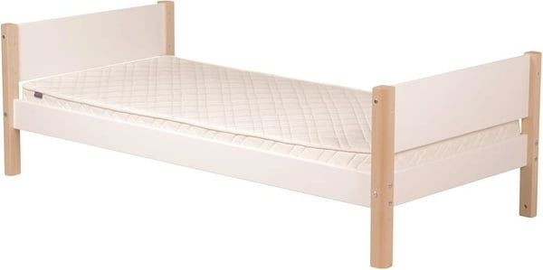 Single White Bed 90x200 Birch White White Bedding Bed Play Beds