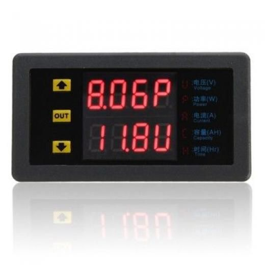 Dc 90v 20a Amp Volt Combo Meter Power Monitor Double Current Voltage China