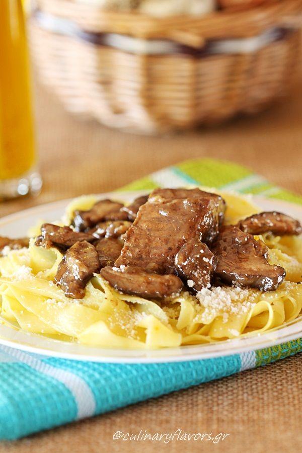 Beef  Pastitsada from Corfu island