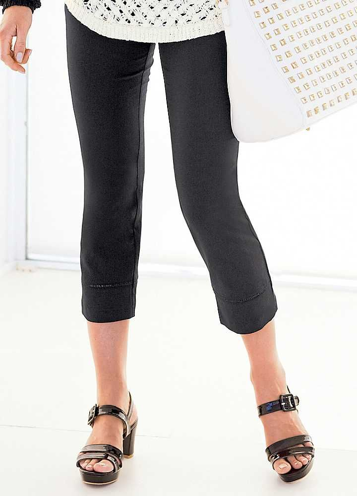 Smart Linen Blend Cropped Trousers #ShiptoShore