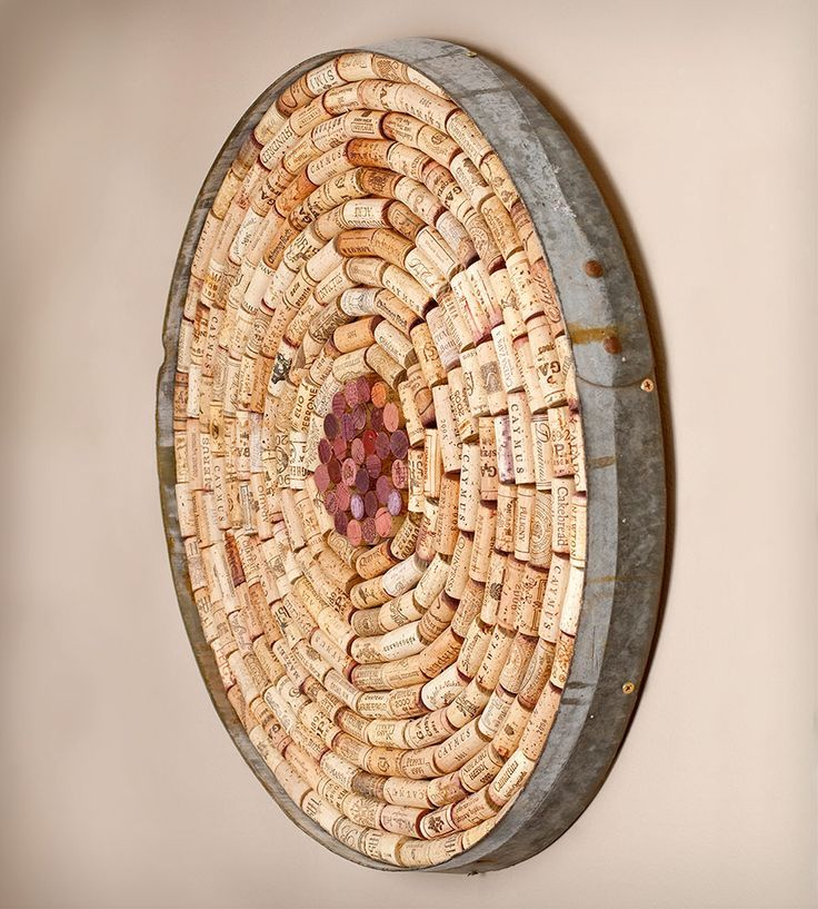 Wine cork wall art parafa pinterest cork wall corks for Cool wine cork projects