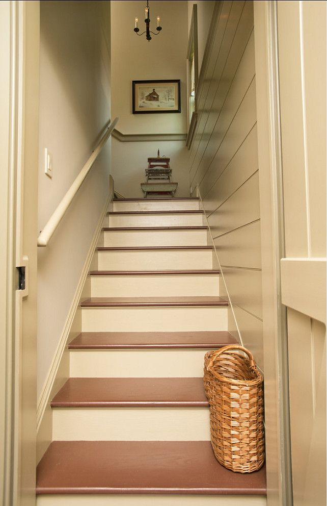 Lighting Basement Washroom Stairs: 150 Best Colonial And Primitive Stairs Images On Pinterest