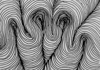 Student example of LINE TEXTURE? PATTERN? RHYTHM? Line element | Elements of art line, Elements ...