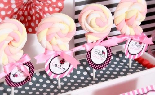 lollipop marshmallow !!