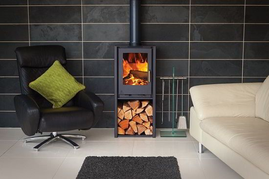 Aarrow i400f stove, Aarrow i400f contemporary stove, Aarrow stoves UK
