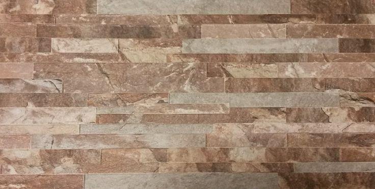 Revestimiento De Ceramica Muro Simil Piedra Laja 31x53