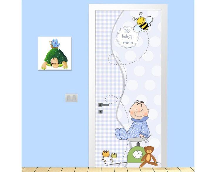 My boy's room, αυτοκόλλητο πόρτας παιδικό , δείτε το!
