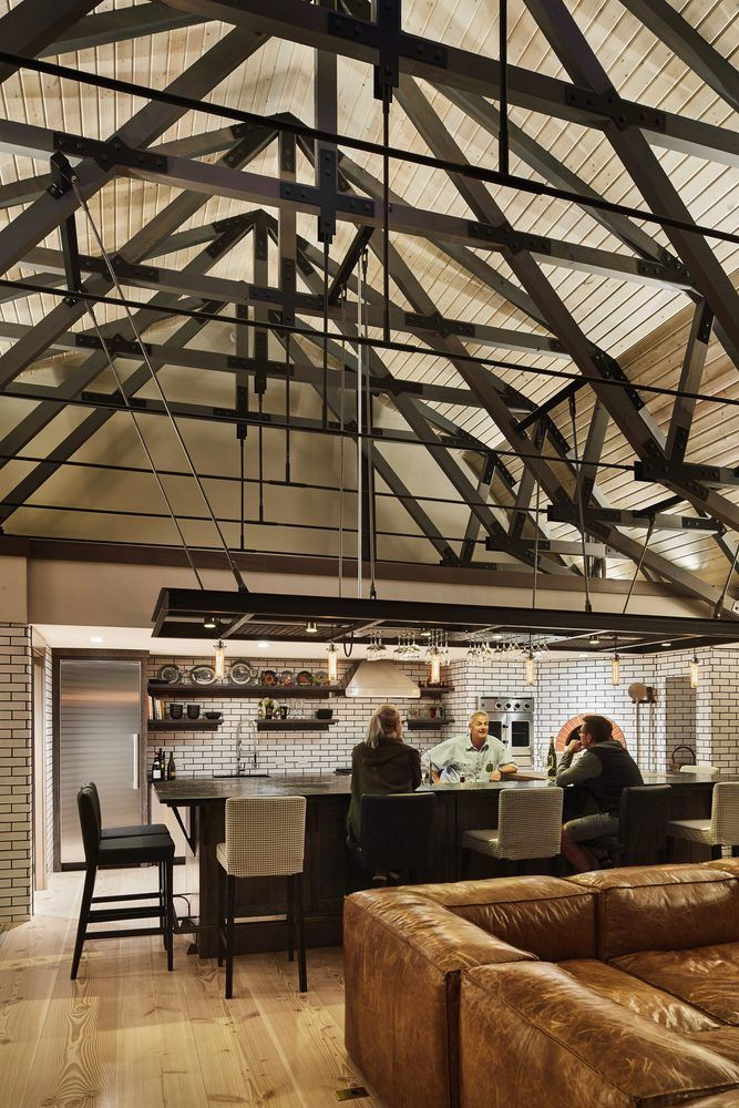 Best 10 Exposed Trusses Ideas On Pinterest Traditional