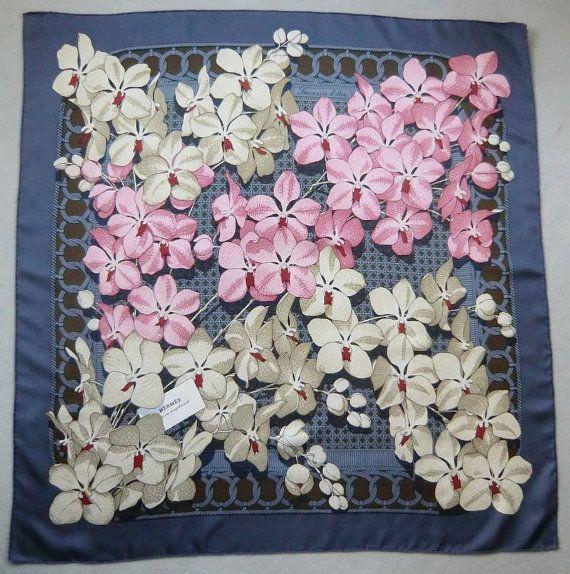 Splendid HERMES Vintage Silk Scarf Hermes by SoulSisters16 on Etsy