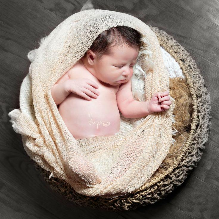modern baby photography bride
