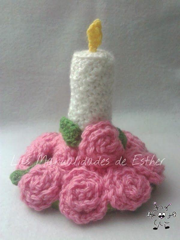 Centro de mesa navide o a crochet mis amigurumis album for Centro de mesa a crochet