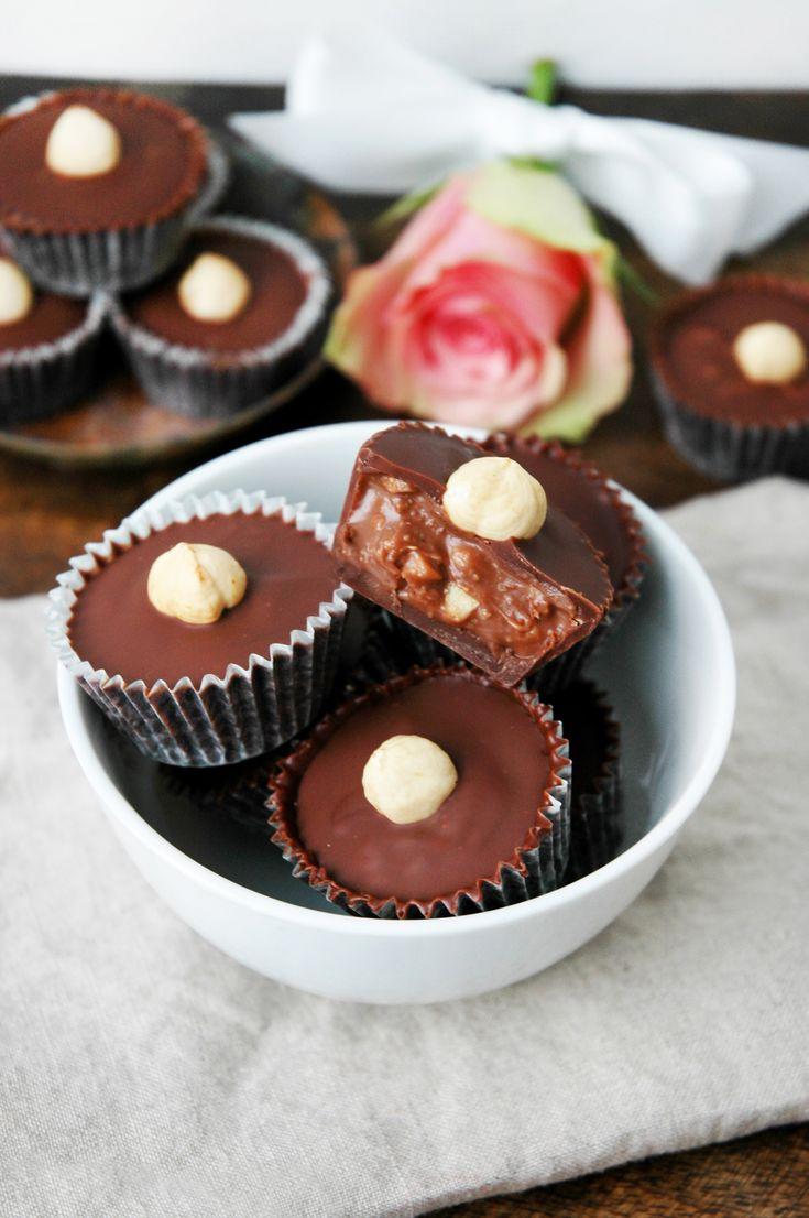 Bakelyst.no: Nydelig, vegansk sjokoladekonfekt med bare tre ingredienser.