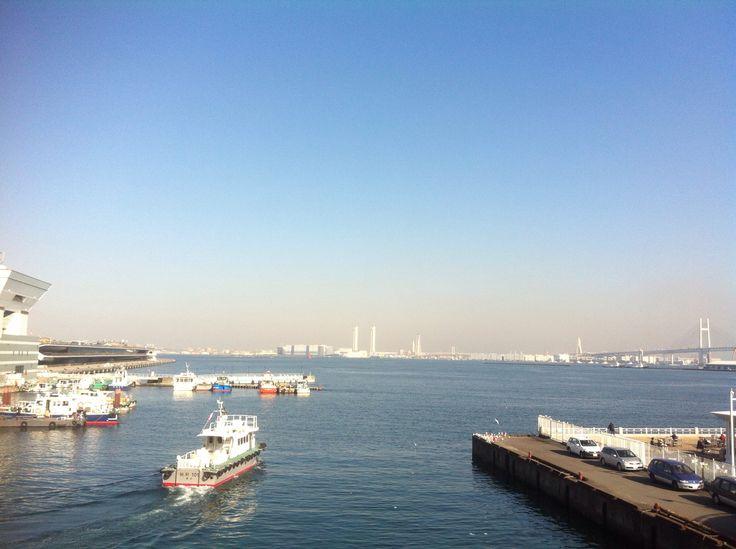 Bến cảng nhỏ tại Yokohama