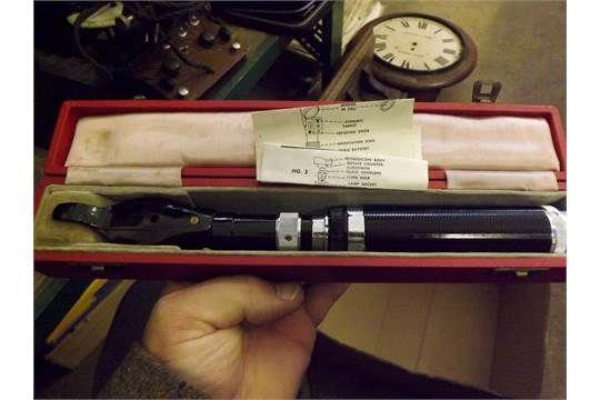 Full-vue Streak Retinoscope in case.