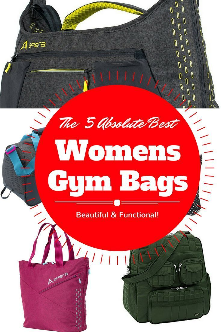 The top 5 best women gym bags out there! Don't waste your time shopping around, these are all tried, true, gorgeous & super functional! via @easylivingtoday