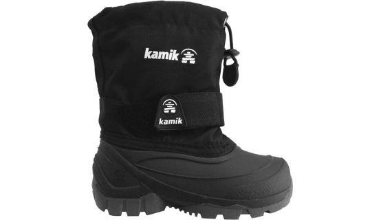 Kamik Kids Husky WP Black