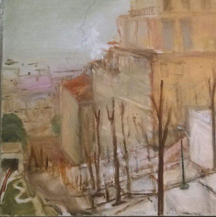 """Paris"" by Greg Fletcher    oil on Belgian linen"