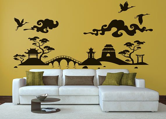 "Japanese Landscape Decal Sticker | Nippon Style | Inspiring Vinyl Poster Japan Nipponic Samurai Bamboo Manga Temple Sushi Rising Sun 日本 by BrutalVisual    12.50 EUR  Japan (or Nihon) is an island country in East Asia. Located in the Pacific Ocean it lies to the east of the Sea of Japan the East China Sea China Korea and Russia stretching from the Sea of Okhotsk in the north to the East China Sea and Taiwan in the south. The kanji that make up Japan's name mean ""sun origin"" and it is often…"