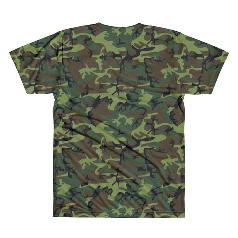 LA Supply Co Camo Men's Crewneck T-shirt