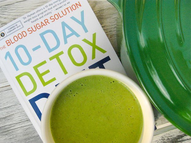Zucchini and Watercress Soup from Dr Hyman's 10-Day Detox Diet