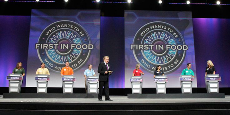 A Rebranding Effort Worth Remembering Food distribution giant U.S. Foods was ready for a change. After an extreme makeover, the company wanted a big unveiling – at their first-ever sales meeting! – and Kindle was by their side to ensure it went off without a hitch. From an onstage semi-truck celebration to a game show …