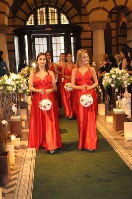 Vestidos para Madrinhas ou Damas-de-Honra Adultas e Grávidas - Escola da Noiva por Agda Paula