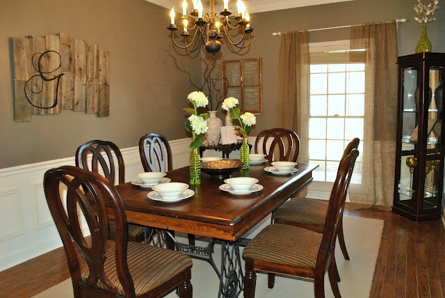 Earthy gray by better homes and gardens paint color for Better homes and gardens dining room ideas