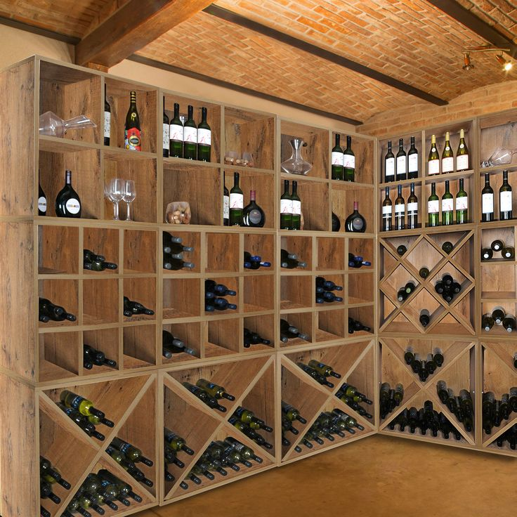 207 best wine cellar images on Pinterest Wine cellars, Wine - weinregal f r k che