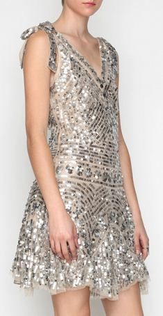 Silver - Shimmery - Sequins!