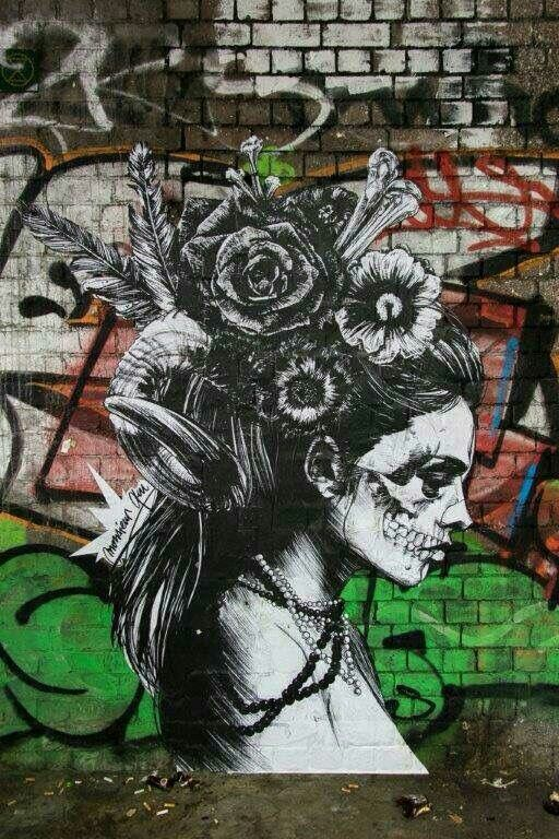 Monsieur Qui Via Graffiti Walls London