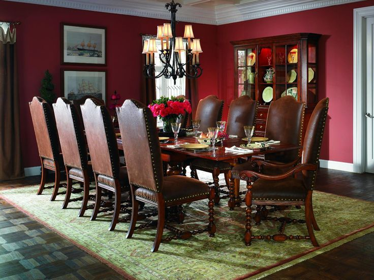 Peter Andrews Furniture And Gifts Dining Room Waverly Place Extendable Refectory Table