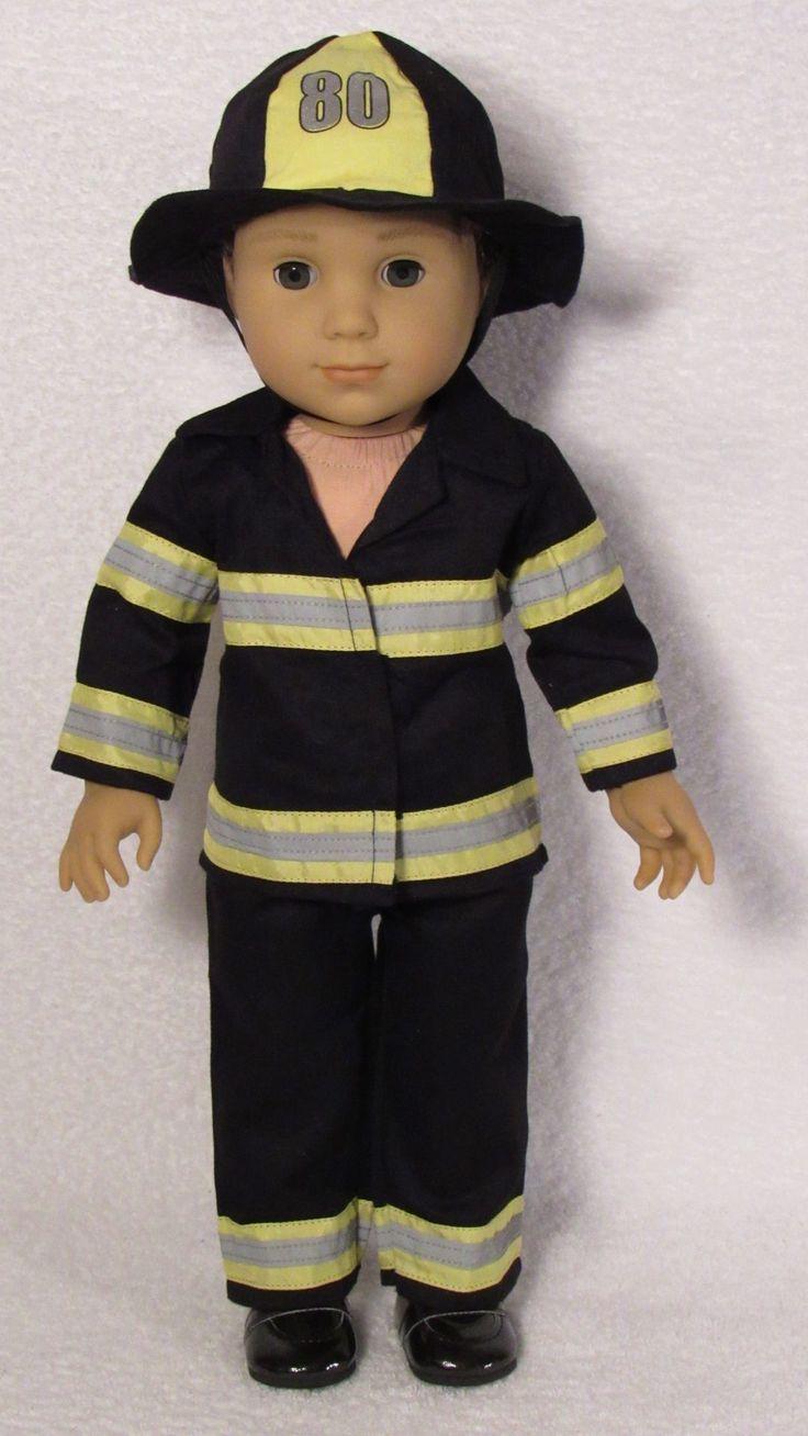 American Boy Doll Fireman Outfit