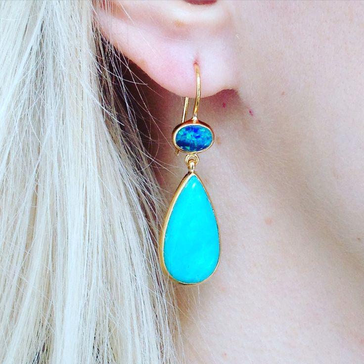 Opal + Amazonite https://kerryrocks.com.au