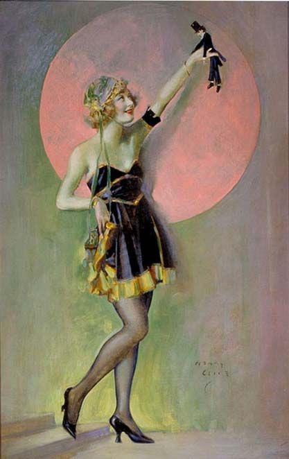 """Ziegfeld Follies Show Girl"" Henry Clive"