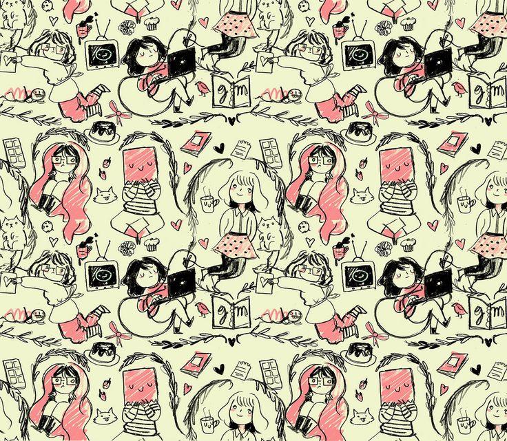 pattern, twitter/tumblr background, patterns, design ...