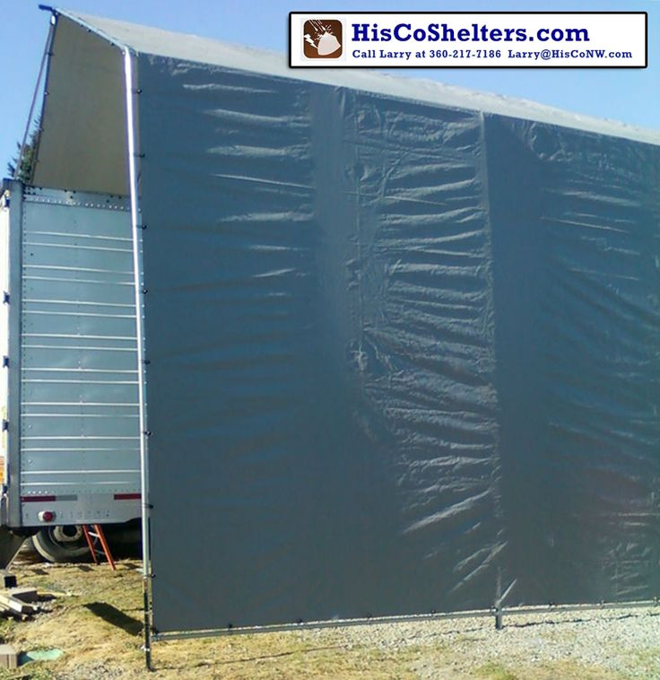 All Weather-Shield Shelter Cover Portable Carport. **You choose the size you want from 10' to 30' wide, 20' to 100' long. **Save Hundred$ Make-Your-Own kit.  Kit Prices from $697.   ** We offer FREE delivery! Check out www.hiscoshelters.com or Call Larry at 360-217-7186 / Email: Larry@Hisconw.com #carport #commercialshelter
