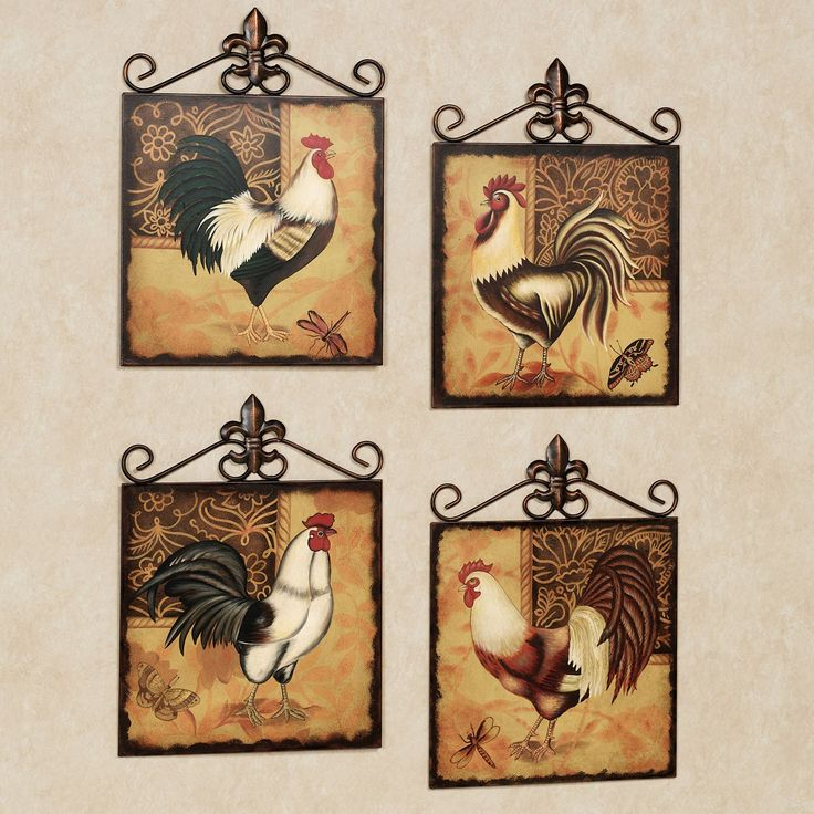 Chicken Kitchen Decor 361 best roosters n such images on pinterest | roosters, rooster