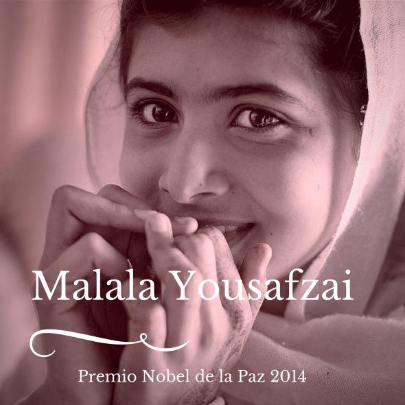 Malala Yousafzai, un bello Premio Nobel de la Paz