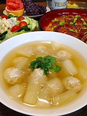 冬瓜の春雨スープです☆|レシピブログ