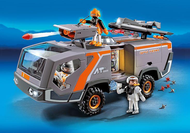 Spy Team Command Vehicle - PLAYMOBIL® United Kingdom