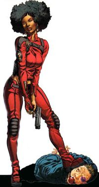 12.) Misty Knight     Is a marvel Character, she first appeared in 1975, and is usually seen with Colleen Wing. She possesses Superhuman Strength, technopathy in her Right Bionic arm and is a skilled Martial Artist. She has been known to Partner with Black Fist From time to time