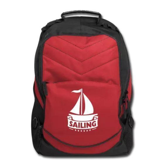 Yachting Gifts Sailing boat Computer Backpack. Sailing Gifts boating  boat gear #PortAuthorityXcapeComputerBackpackBG100