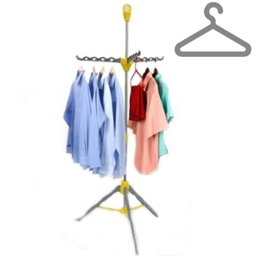 Perchero adicional para colgar sus prendas, se puede usar para secar la ropa sin ser arrugada. Disponible para 33 perchas y es ajustable en altura  19,30 € (IVA incl.)