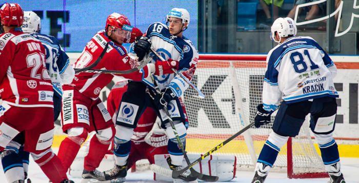 Plzeňští hokejisté ztratili vyrovnanou bitvu s Třincem až v závěru